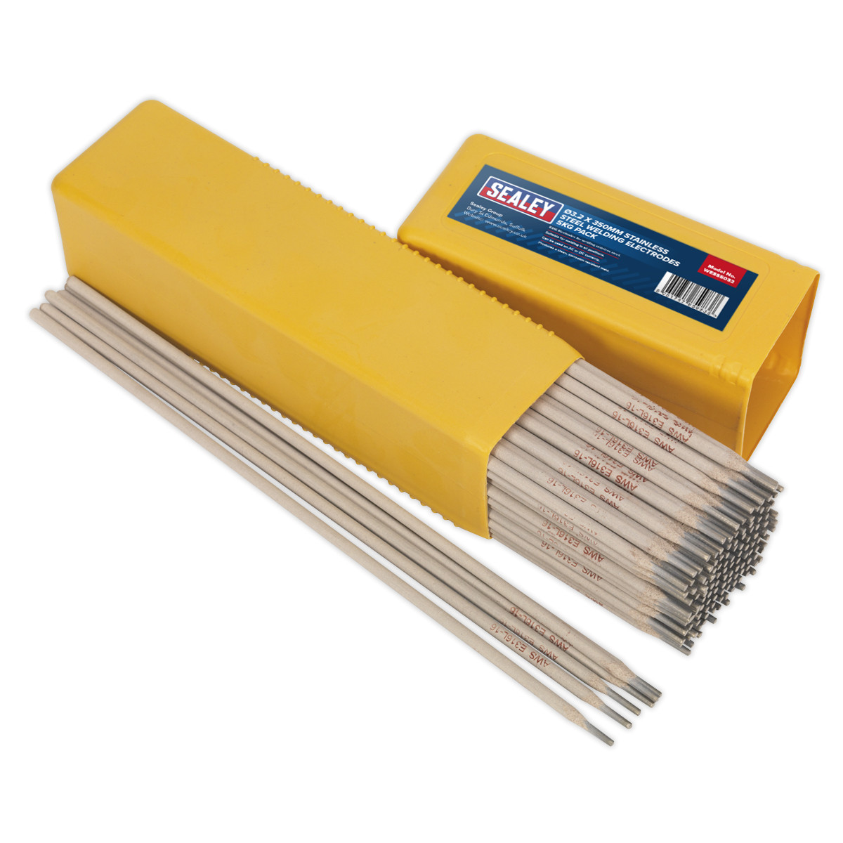 Sealey Wess5032 Welding Electrodes Stainless Steel
